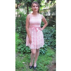 Дантелена рокля Мариела