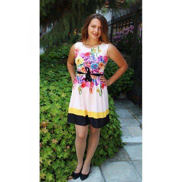Лятна цветна рокля