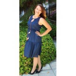 Памучна рокля лятна