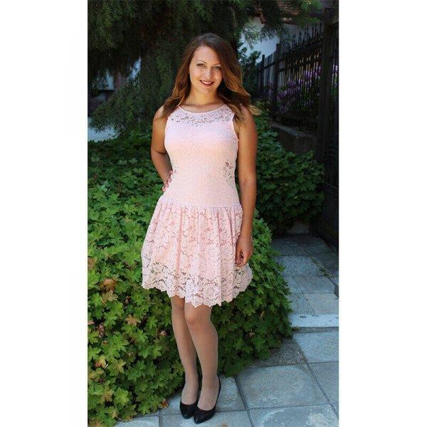Дантелена рокля Розалия