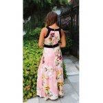 Дълга рокля на цветя Ивет