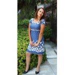 Ежедневна рокля с висока талия