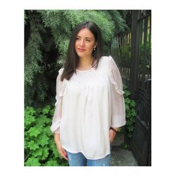 Блуза Силвена копринена