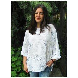 Блуза на цветя Каролина
