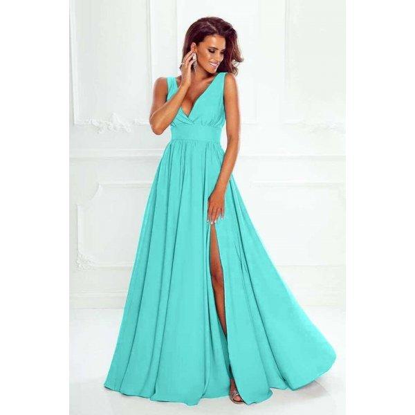 Бална рокля цвят мента