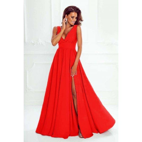 Червена абитуриентска рокля