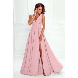 Дълга абитуриентска рокля пепел  рози