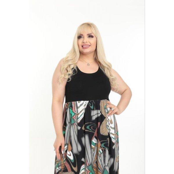 Лятна рокля макси размери