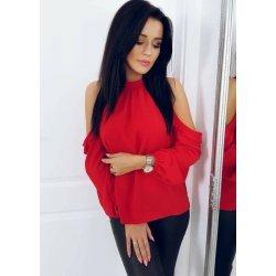 Червена официална блуза