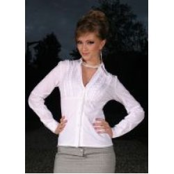 Дамска бяла риза
