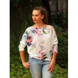 Плетена блузка прилеп