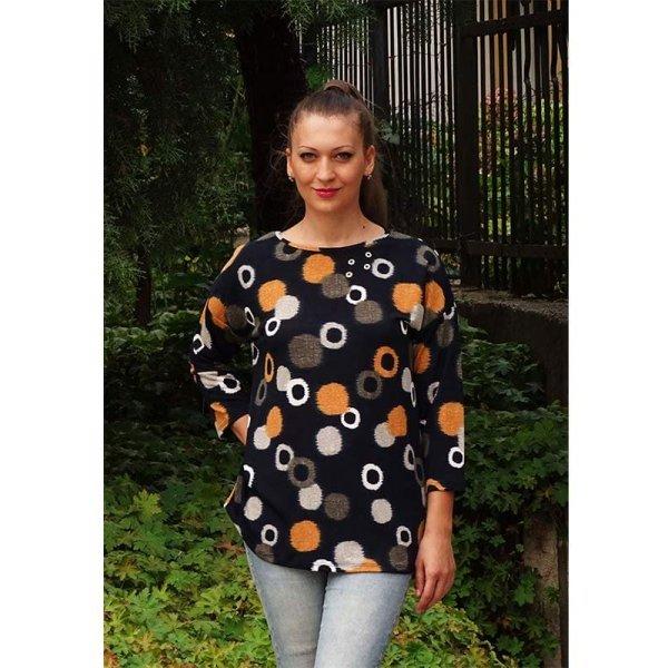 Дамска блуза едри жени