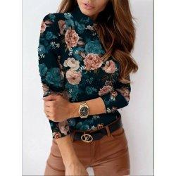 Блуза на цветя S размер