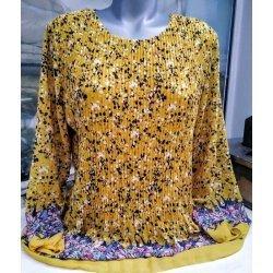 Блуза от шифон точки