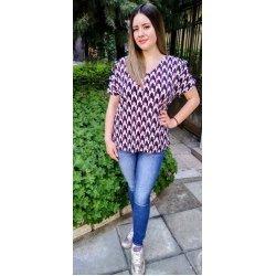 Дамска лятна блуза модел 019