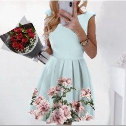 Лятна рокля цвят мента