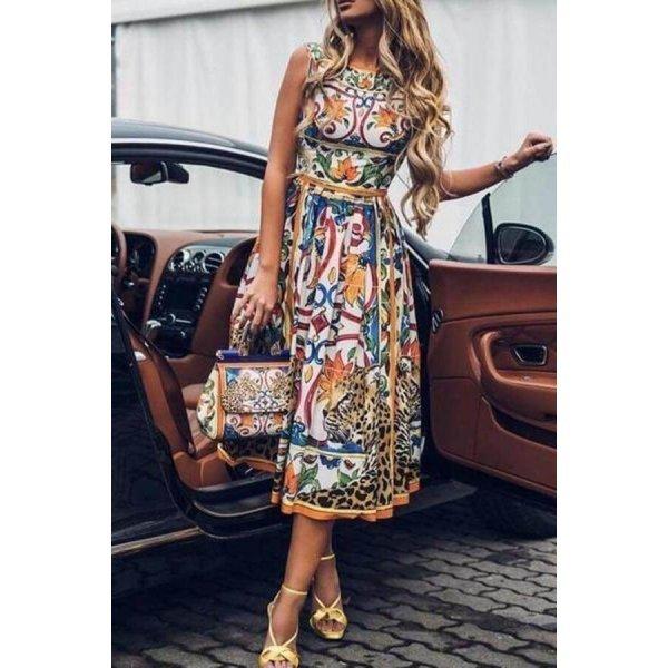 Лятна рокля миди