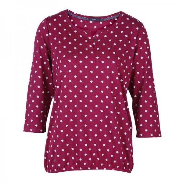 Памучна блуза на точки