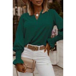 Дамска зелена блуза