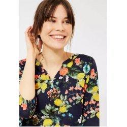 Памучна блуза на цветя