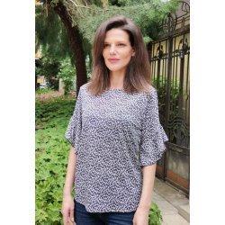 Блуза с леопардова щампа
