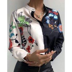 Дамска елегантна риза Моника
