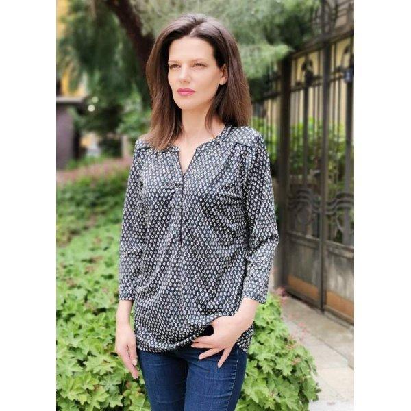 Дамска удължена блуза