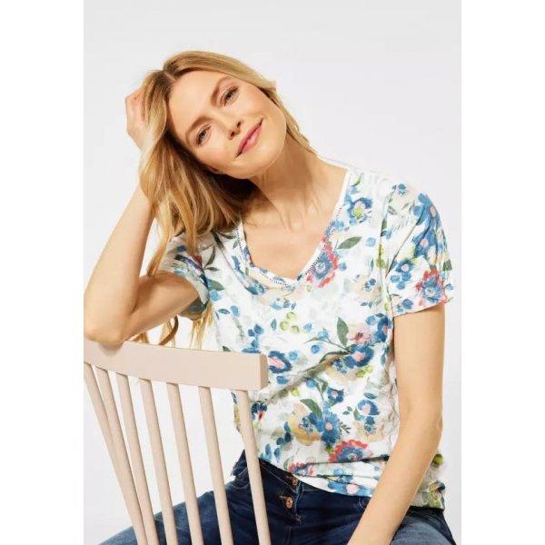Ежедневна блуза с флорален принт