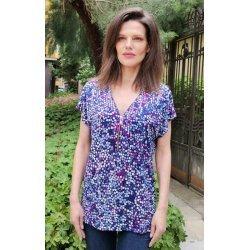 Лятна блуза с цип