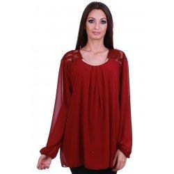 Официална блуза едри жени