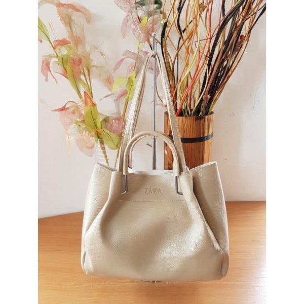 Бежова чанта Zara