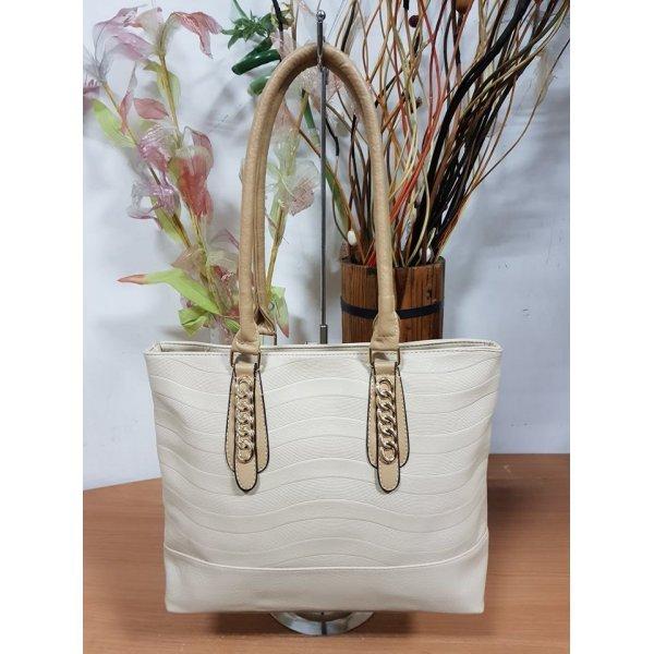 Бежова лятна чанта