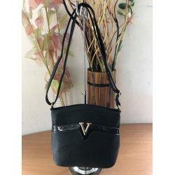 Чанта с дълга дръжка черна
