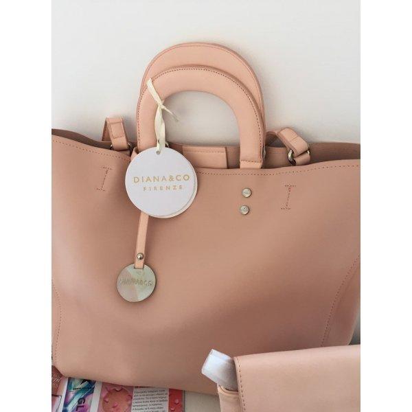Розова чанта две в едно