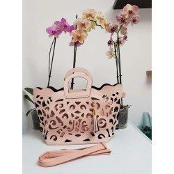Модерна розова чанта