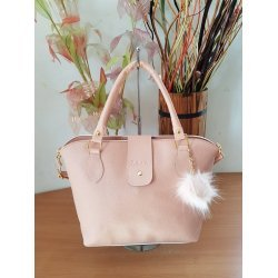 Розова лятна чанта