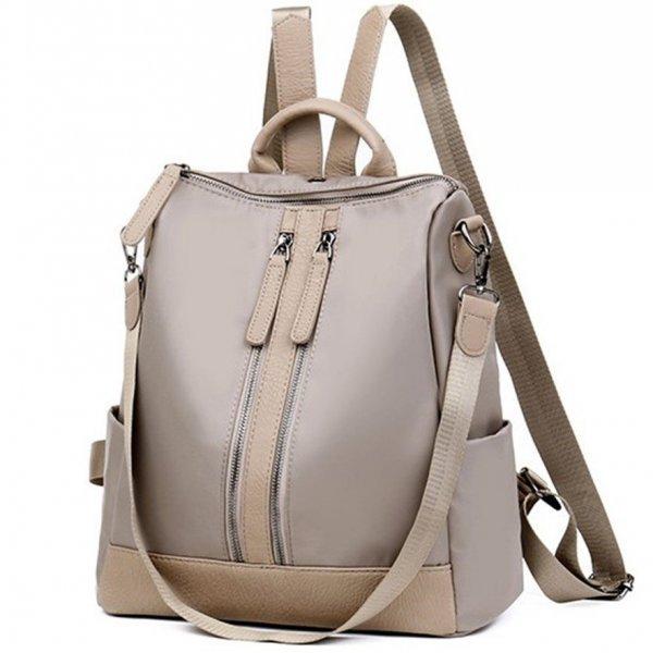 Бежова раница-чанта Astrid Beige