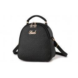 Черна чанта-раница
