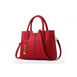 Червена елегантна чанта Julie Red