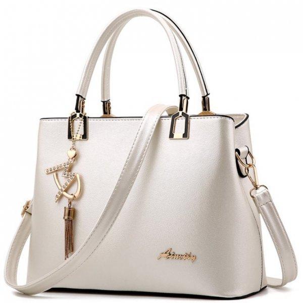Дамска елегантна чанта Aimily Champagne