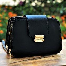 Малка черна чанта Iren Black