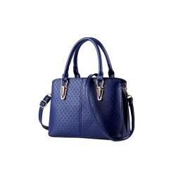 Синя чанта Flora Blue