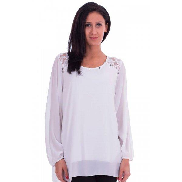 Официална блузка и дантелка