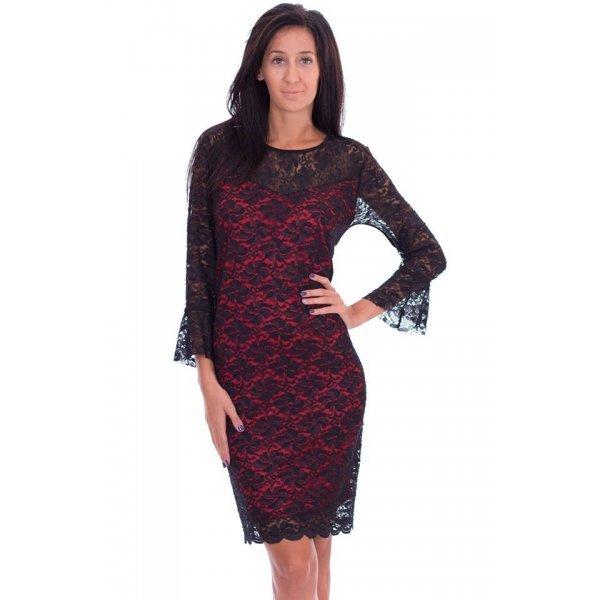 Дантелена рокля онлайн