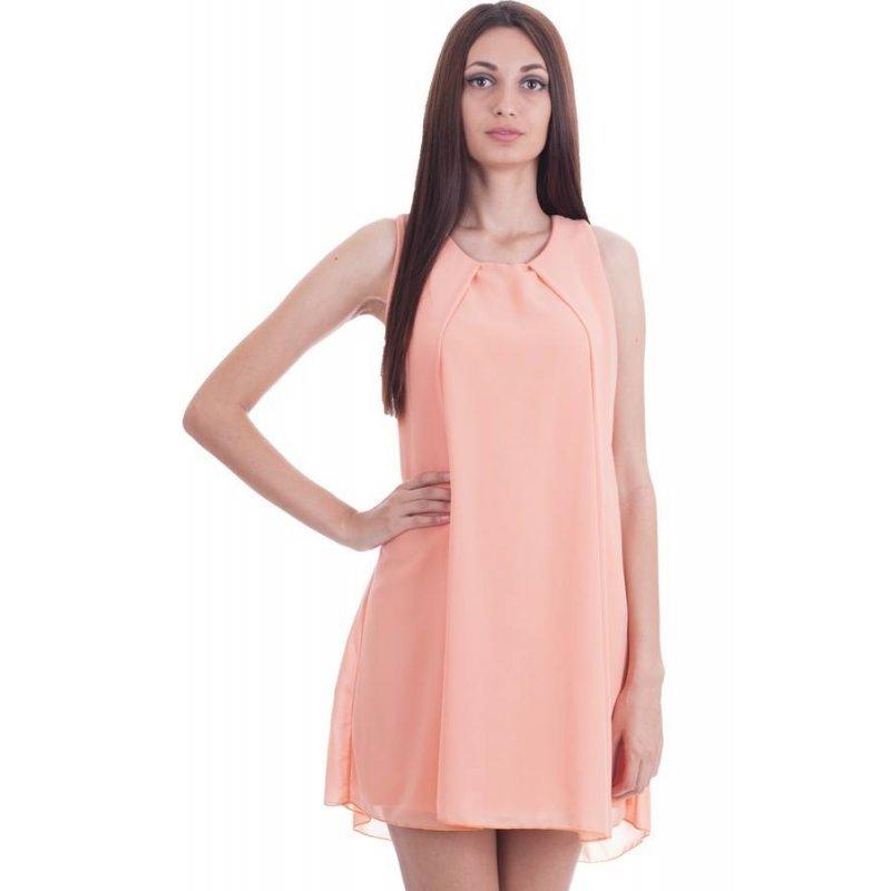 5859e8fc384 Шифонена къса рокля