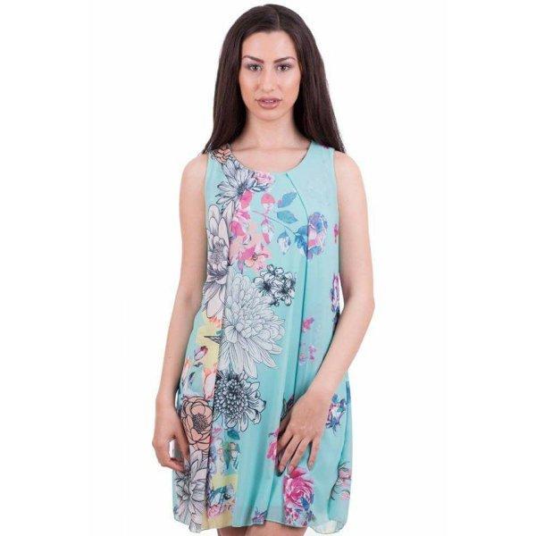 Лятна рокля на цветя