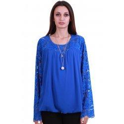 Официална блуза макси размер