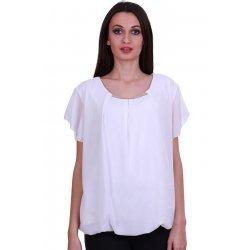 Бяла официална блузка