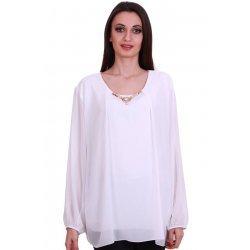 Официална блузка голям размер