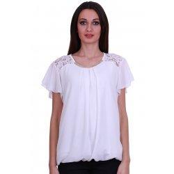 Официална блузка къс ръкав